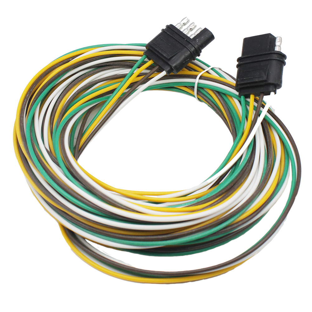 Trailer Light Wiring Harness Extension 4 Way Plug 18 Awg